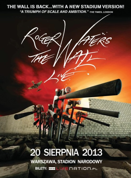 roger waters the wall warszawa
