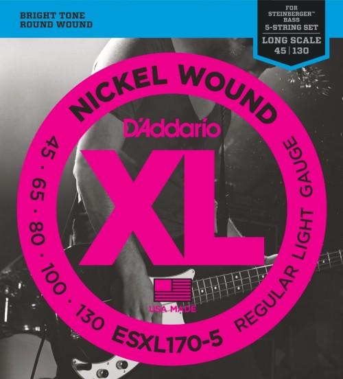 XL 5-string Bass XL Regular Light ESXL170-5