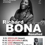 Richard Bona na 5 koncertach