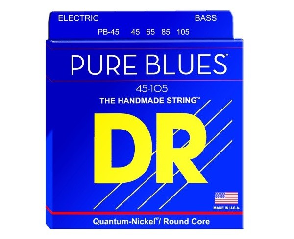 DR Pure Blues Bass Strings