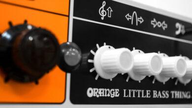 Orange Little Bass Thing