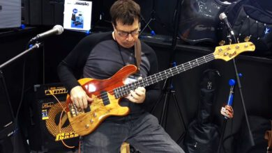 Jeff Berlin live at NAMM Show 2014