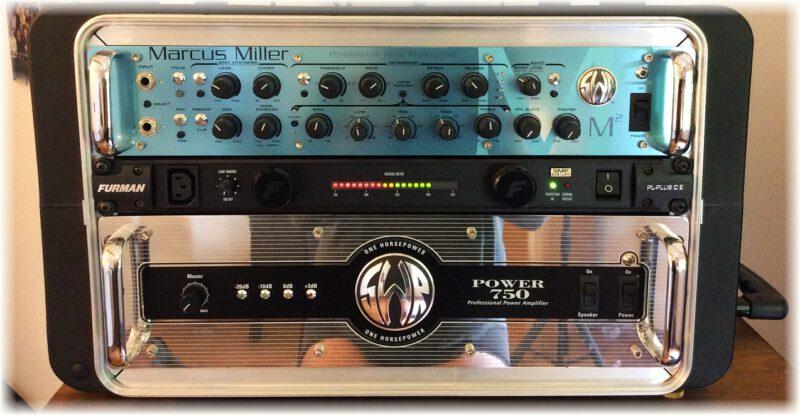 SWR Power 750 oraz SWR Marcus Miller Preamp