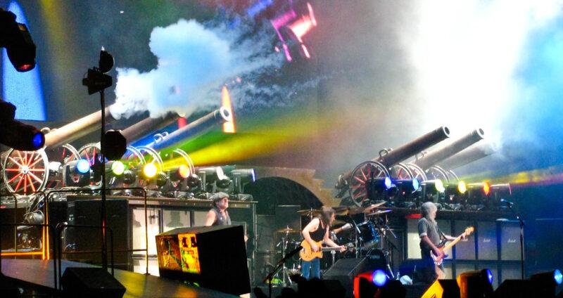 AC DC Concert, fot. Anirudh Koul na licencji CC BY-NC 2.0